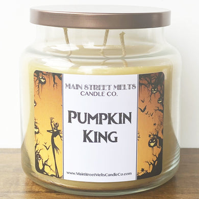 PUMPKIN KING Disney Candle 18oz