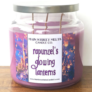 RAPUNZEL'S GLOWING LANTERNS Disney Candle 18oz