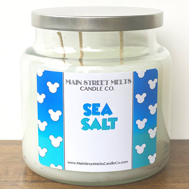 SEA SALT Disney Candle 18oz