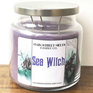 SEA WITCH Disney Candle 18oz