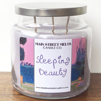 SLEEPING BEAUTY Disney Candle 18oz
