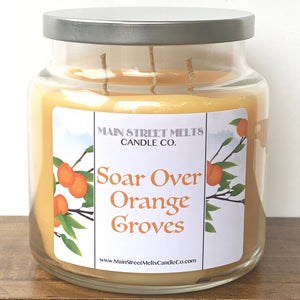 SOAR OVER ORANGE GROVES Disney Candle 18oz