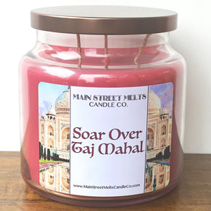 SOAR OVER TAJ MAHAL Disney Candle 18oz