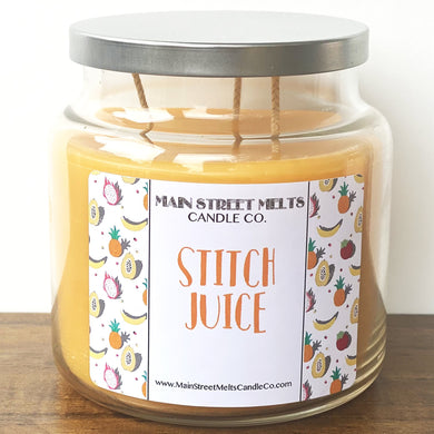 STITCH JUICE Disney Candle 18oz