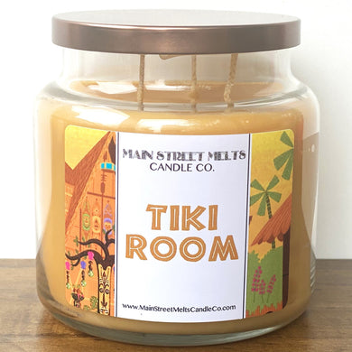 TIKI ROOM Disney Candle 18oz