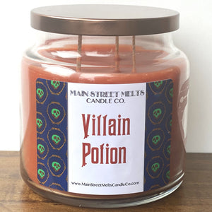 VILLAIN POTION Disney Candle 18oz