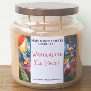 WONDERLAND TEA PARTY Disney Candle 18oz