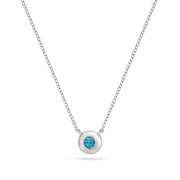 Limited Edition London Blue Topaz Necklace