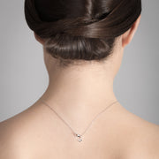 Double Diamond Necklace