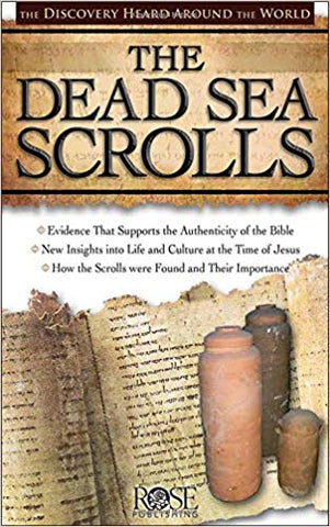 The Dead Sea Scrolls Pamphlet