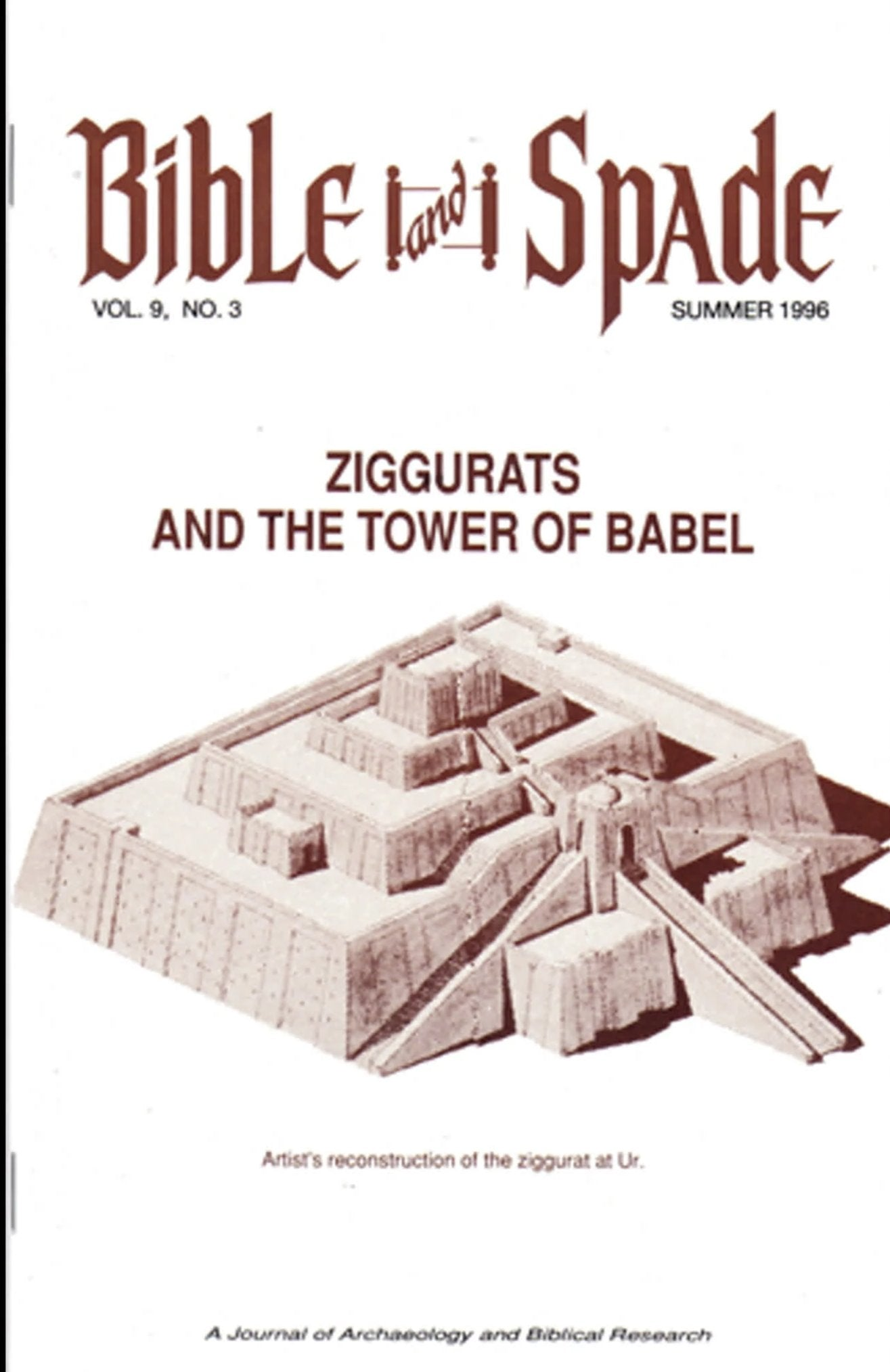 Four issues of BIBLE and SPADE produced in 1996