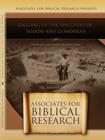 Digging up the Sin Cities of Sodom and Gomorrah DVD