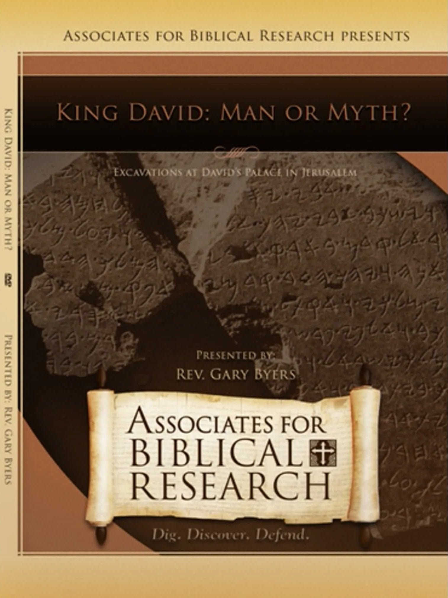 King David: Man or Myth? DVD