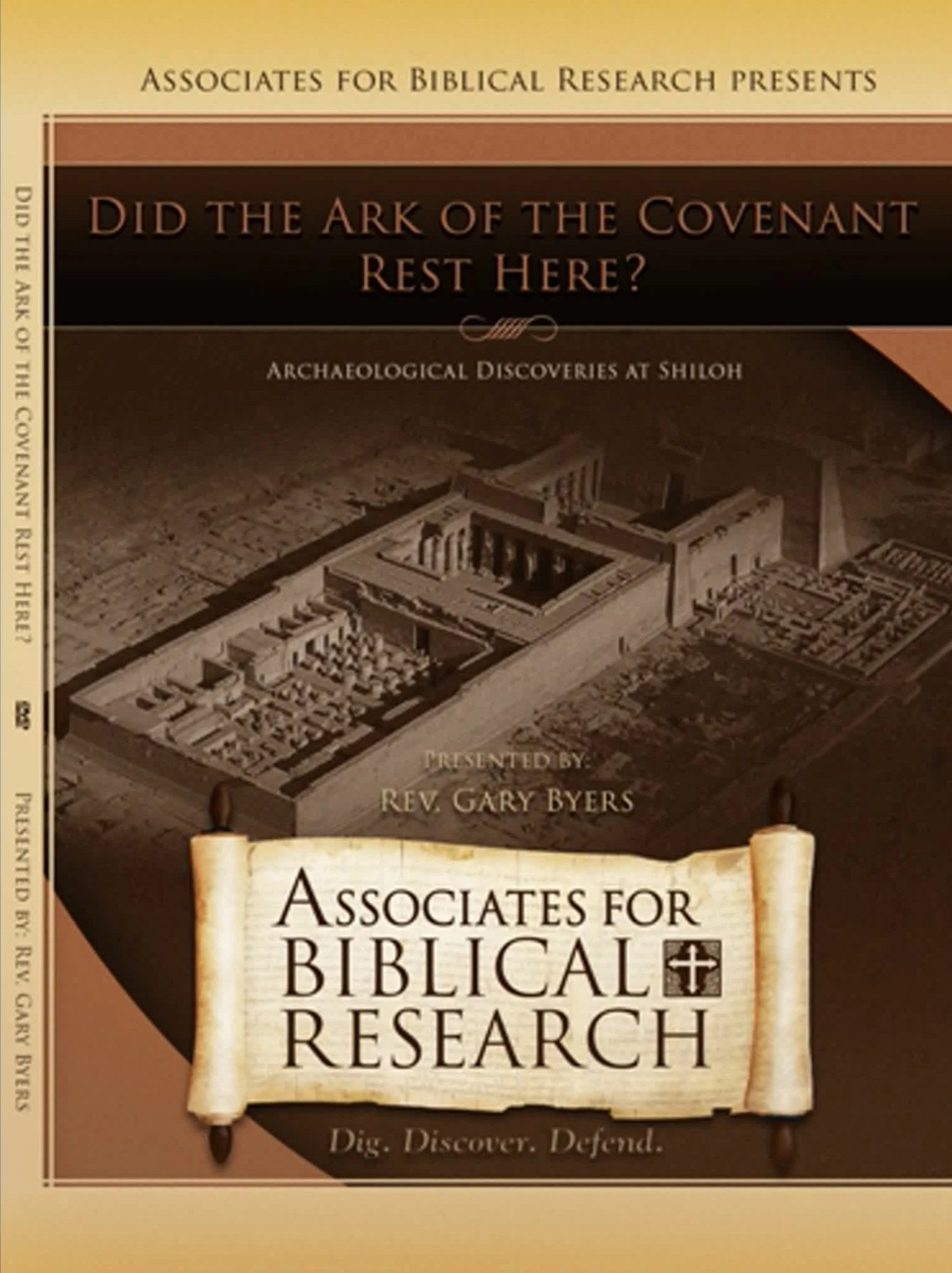 Did the Ark of the Covenant Rest Here? Archaeological Finds from Shiloh DVD