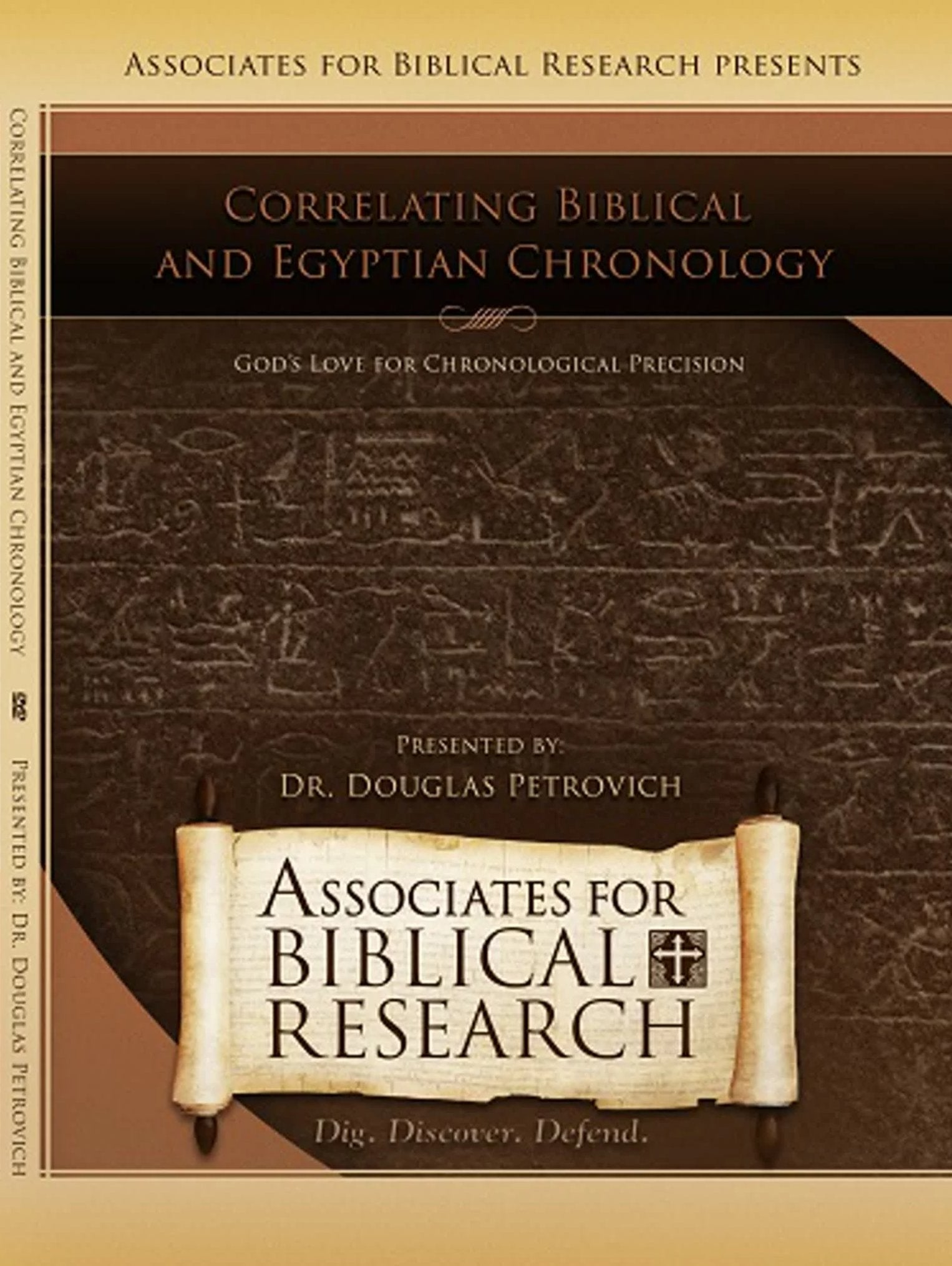 Correlating Biblical and Egyptian Chronology DVD