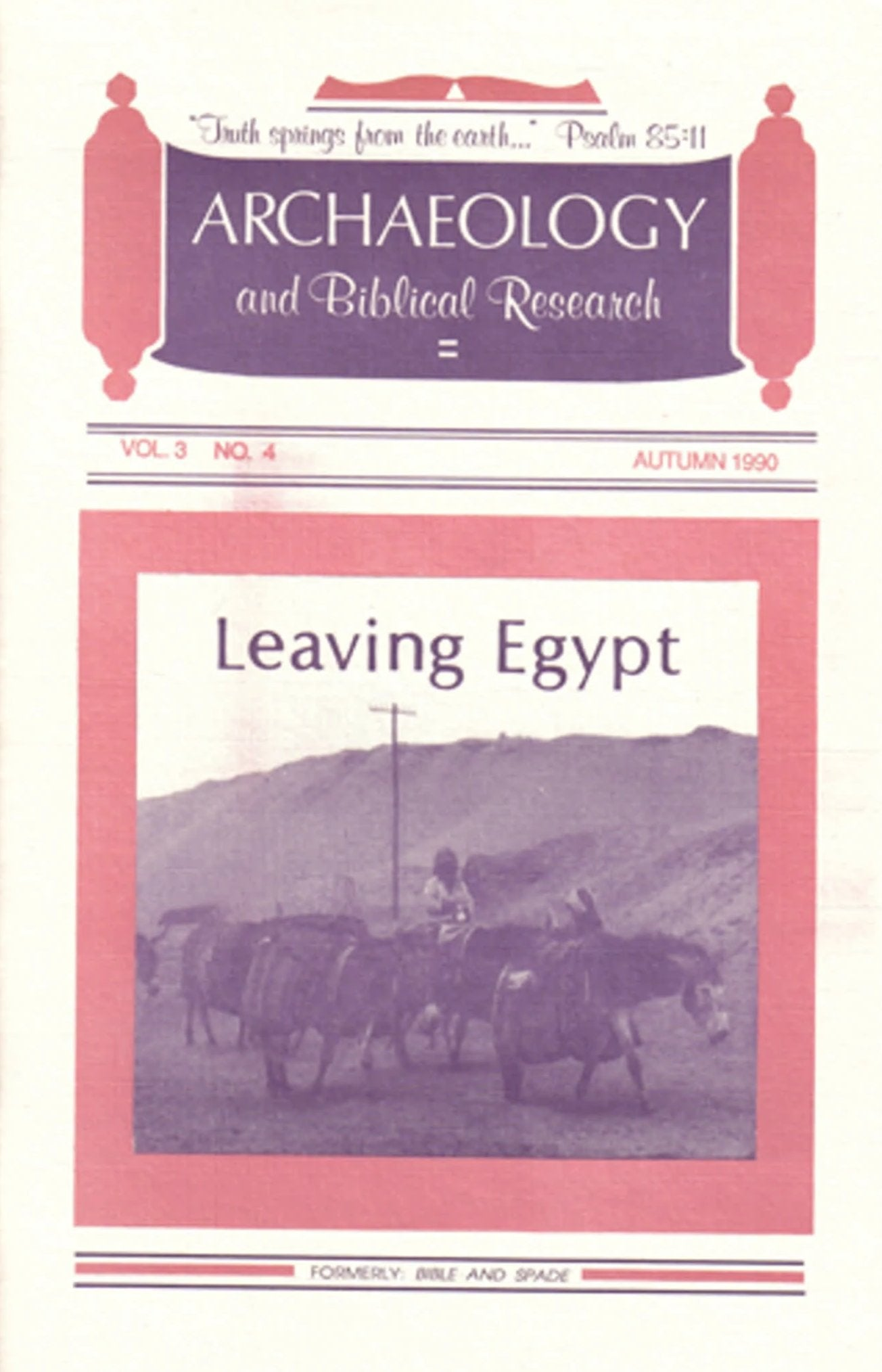 Four issues of BIBLE and SPADE produced in 1990