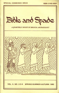 Issues of BIBLE and SPADE produced in 1982