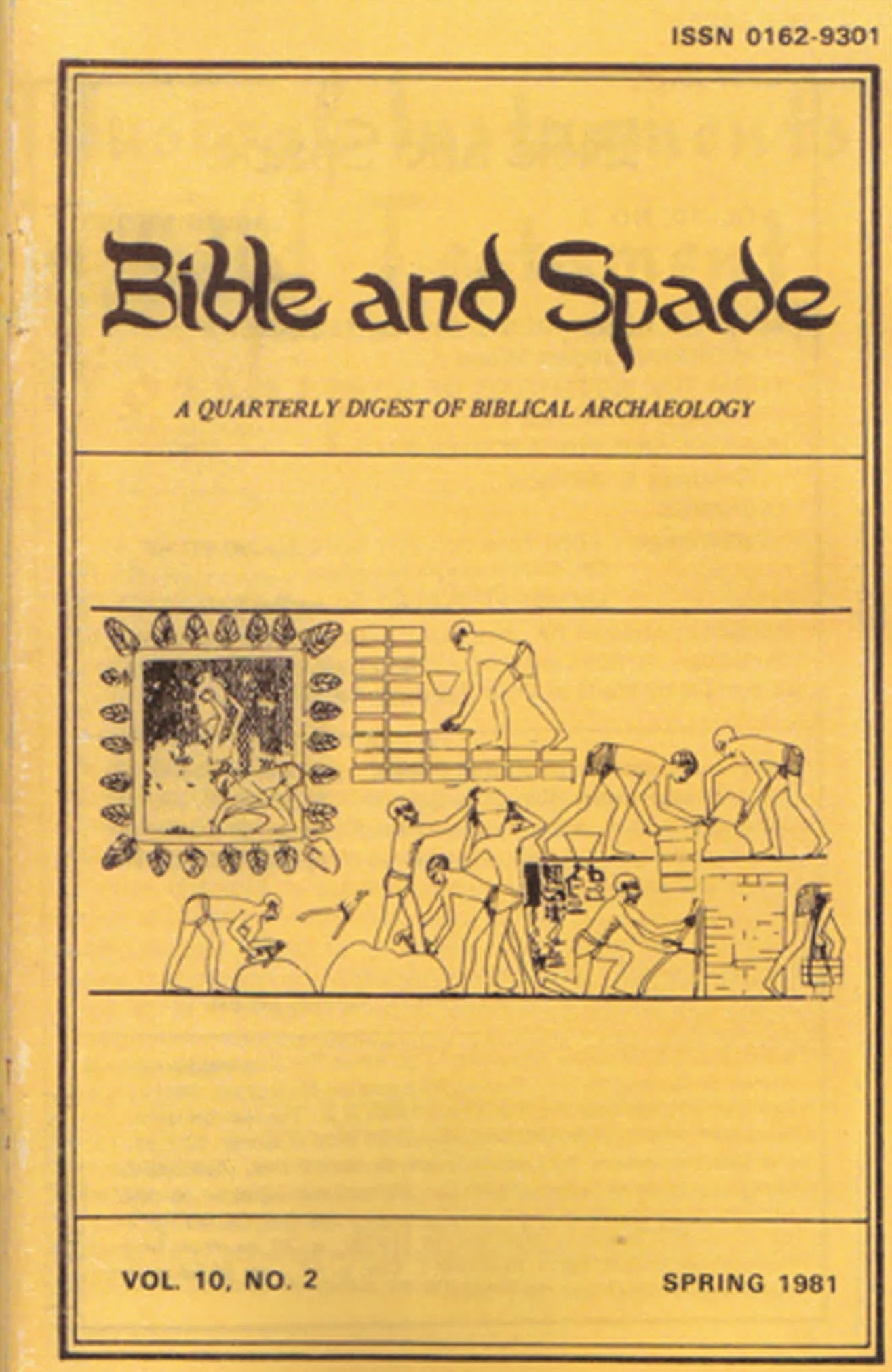 Issues of BIBLE and SPADE produced in 1981