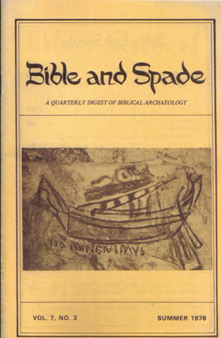 Four issues of BIBLE and SPADE produced in 1978