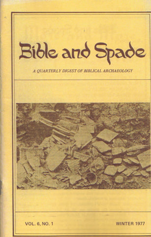 Four issues of BIBLE and SPADE produced in 1977