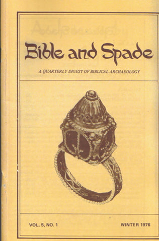 Four issues of BIBLE and SPADE produced in 1976