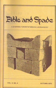 Issues of BIBLE and SPADE produced in 1975