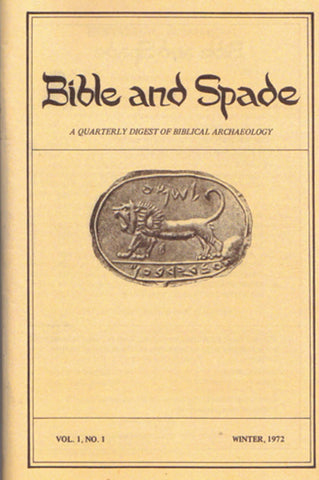 Four issues of BIBLE and SPADE produced in 1972