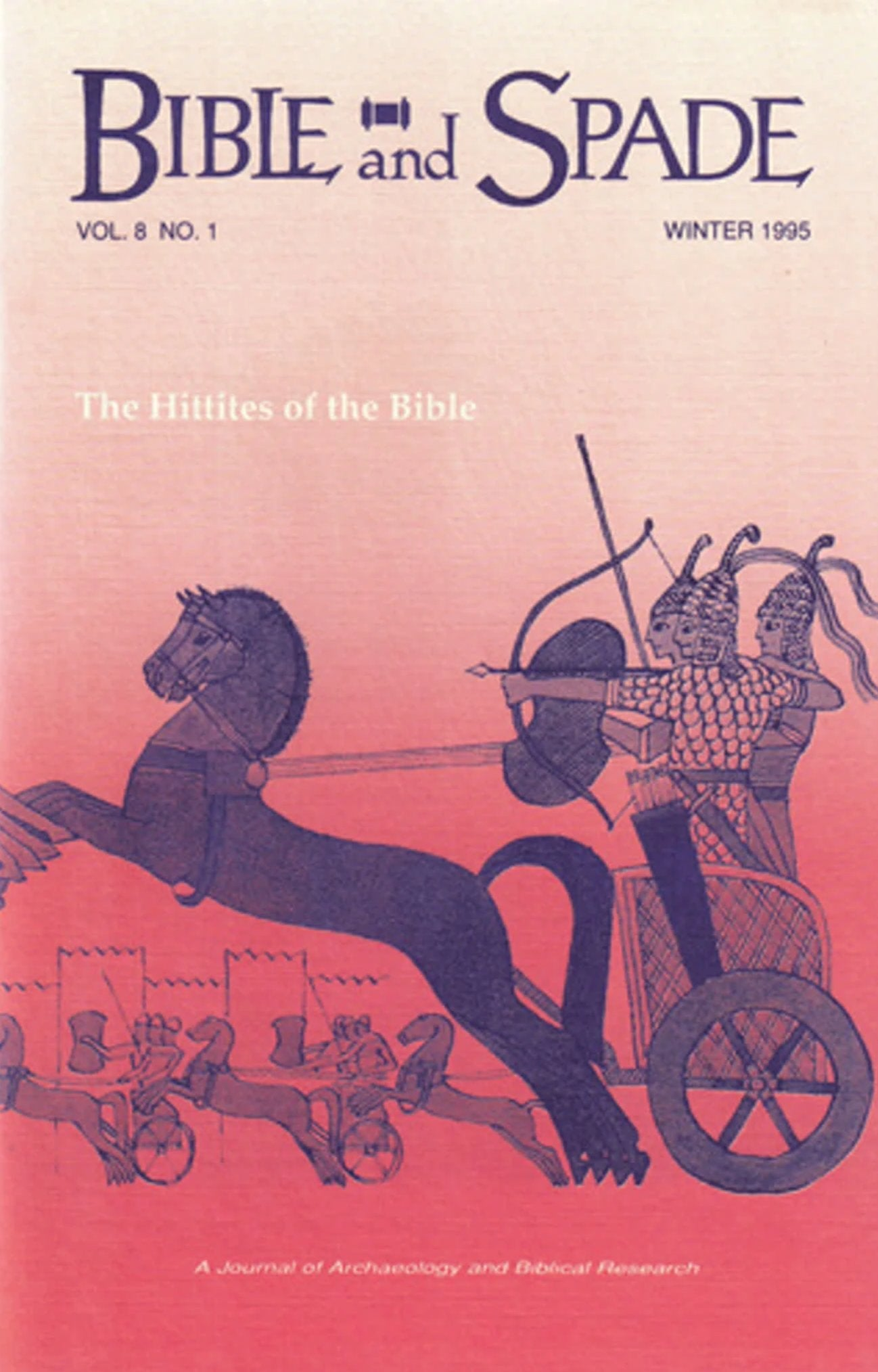 Four issues of BIBLE and SPADE produced in 1995