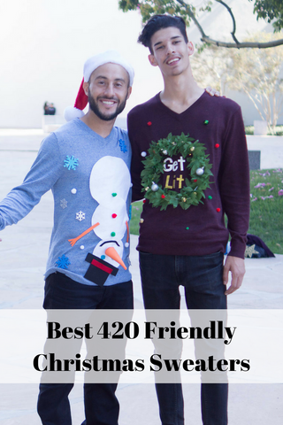 420 Christmas Sweater