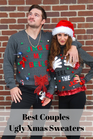 Best Naughty Ugly Christmas Sweaters