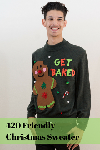 Get Baked Christmas Sweater