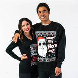 Where my Ho's at Christmas Sweater -Mens Ugly Christmas Sweater