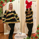 Ugly Christmas sweater, Ugly Christmas Sweater Women, Christmas Tree Sweater