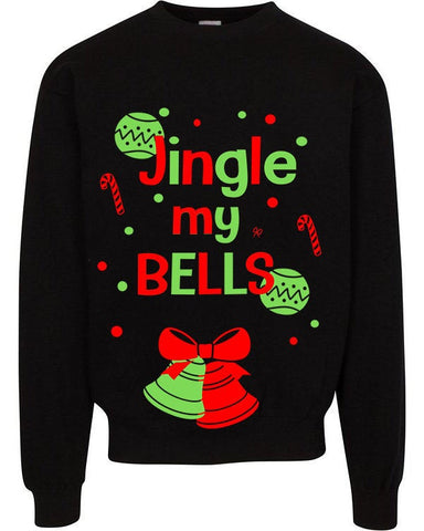 Ugly Christmas Sweater - Jingle My Bells Sweater in Stock READY to ship