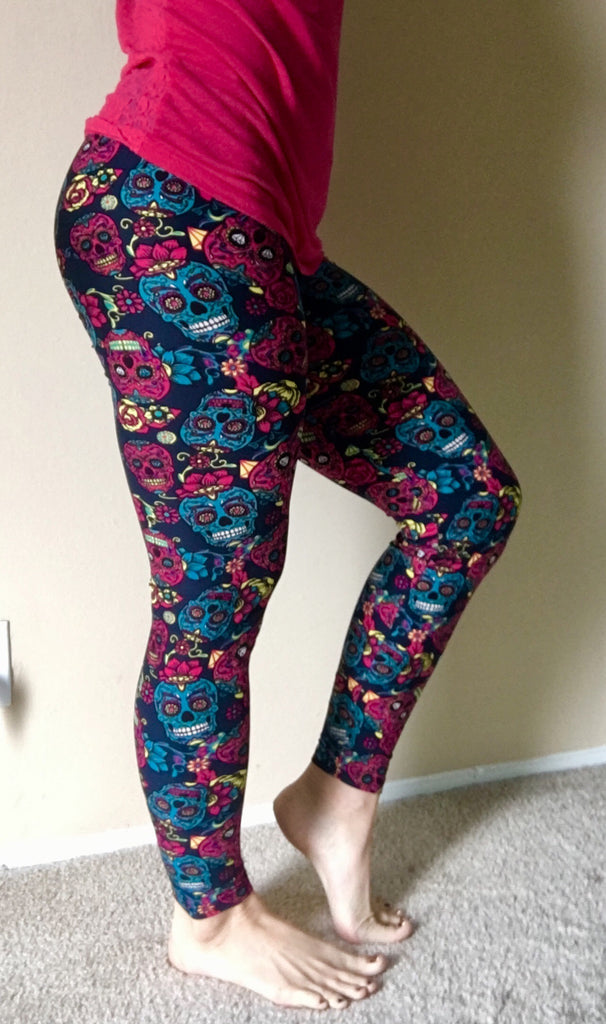 Skull Leggings | Skull Tattoo Leggings
