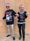 Santa's Favorite Ho - Naughty Ugly Christmas Sweater - 3D in stock