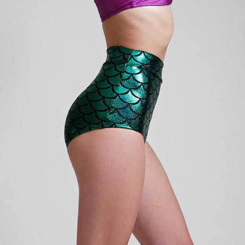 Mermaid High Waist Bottoms -