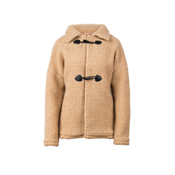 Wool Double Breasted Full Sleeve Warm Coat