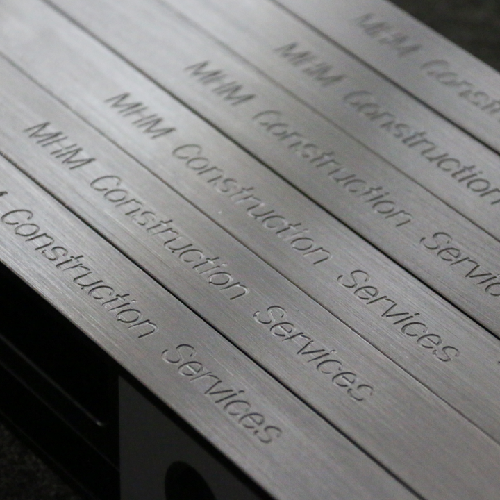 Personalised Level Engraving
