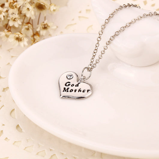 Godmother necklace gift tiny tootsies godmother necklace gift aloadofball Gallery