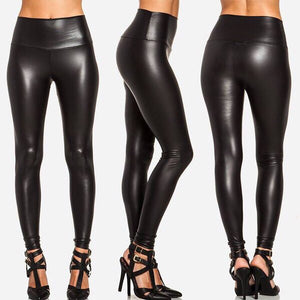 Leather High Waisted Pant