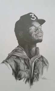 Chance the Rapper Print