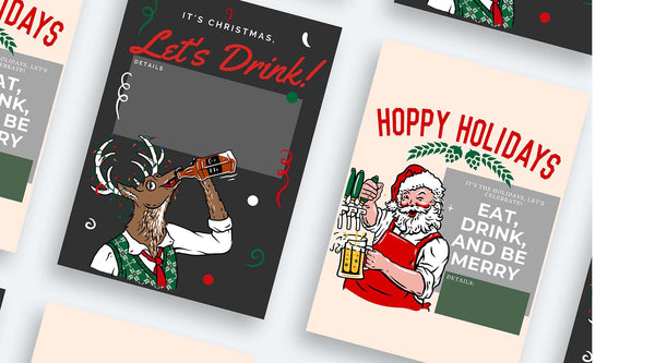 free digital downloads christmas party invitations shopping lists recipes