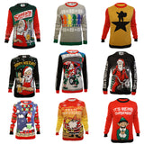 Ugly Christmas Party Sweater Unisex Unisex Assorted Santa Xmas Sweatshirt