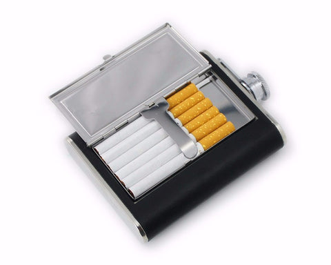 Cigarette Holder Hip Flask