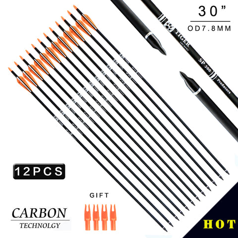 "12 Carbon 30"" Arrows"