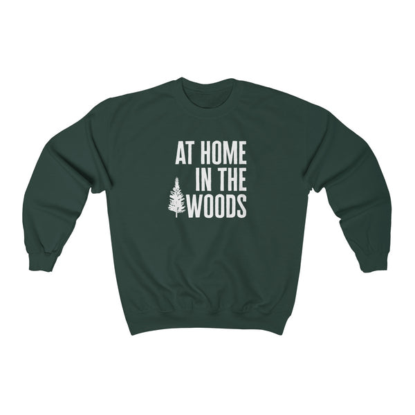 At Home In The Woods Pullover