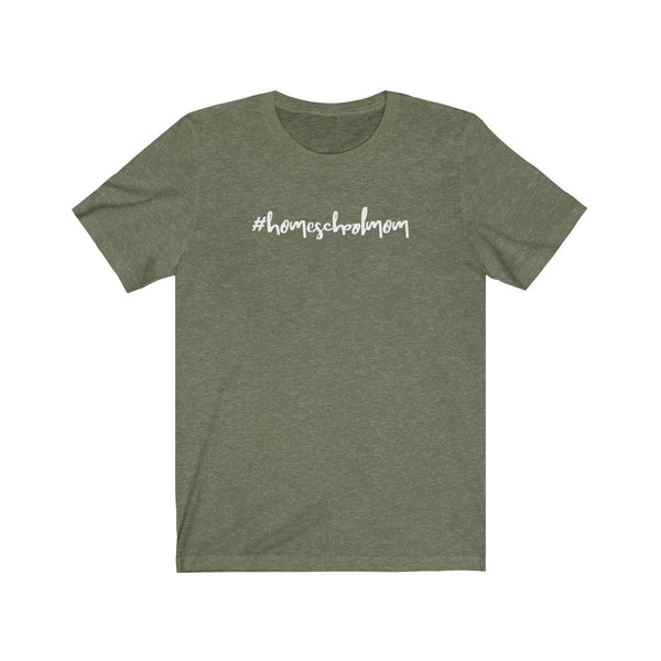 Homeschool Mom Tee