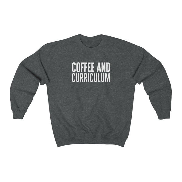 Coffee And Curriculum Pullover
