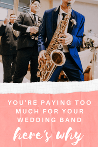 You Are Paying Too Much For Your Wedding Band: How Much Does A Wedding Band Really Cost?